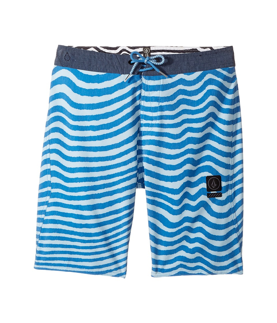 Volcom Kids - Mag Vibes Stoney Boardshort (Big Kids) (Mayan Blue) Boy's Swimwear