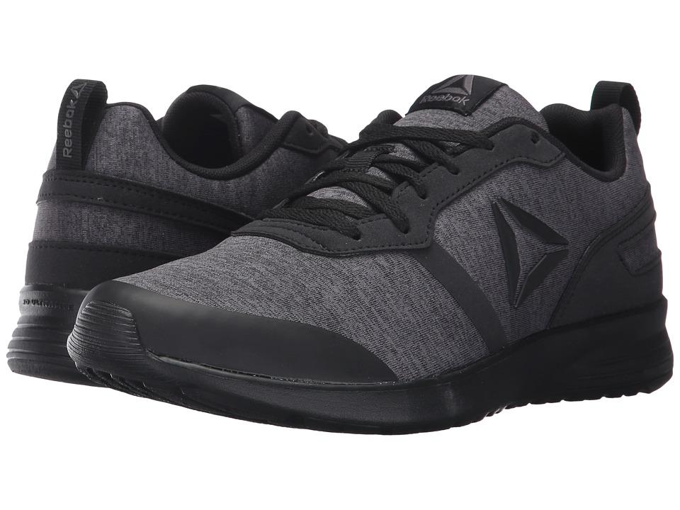 Reebok - Foster Flyer (Heather Black/Dark Grey Heather/Ash Grey) Women's Running Shoes