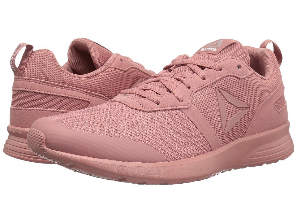 Reebok - Foster Flyer (Sandy Rose/White/Matte Silver) Women's Running Shoes