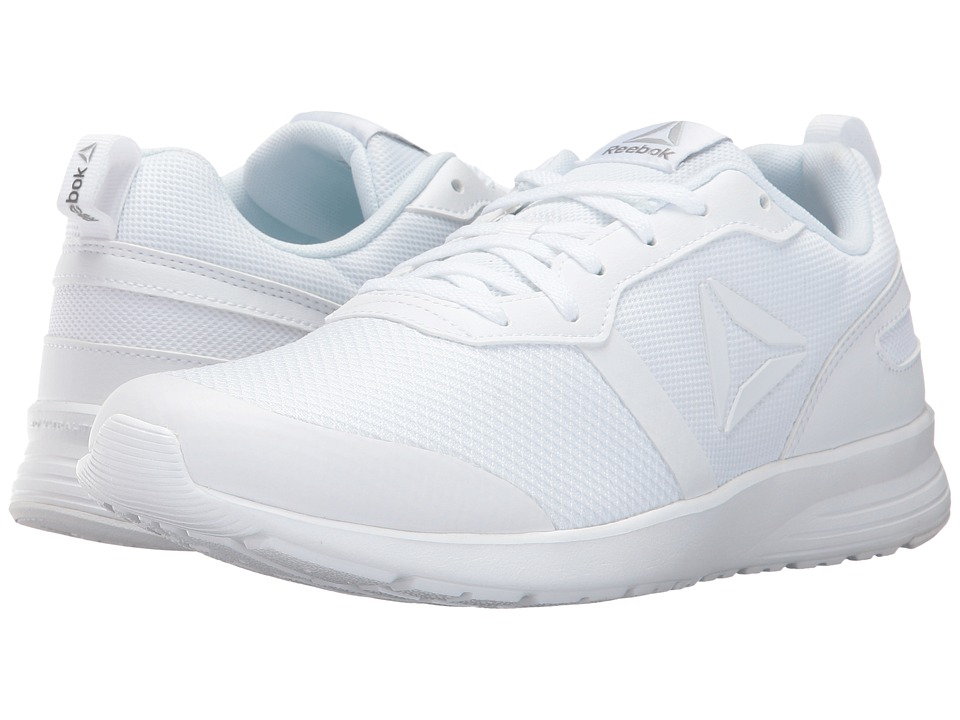 Reebok - Foster Flyer (White/Pewter/Matte Silver) Women's Running Shoes