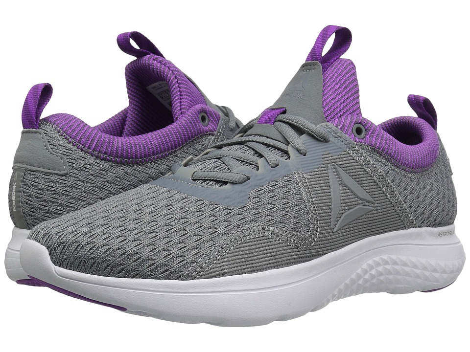 Reebok Astroride Run Fire MTM (Flint Grey/Alloy/Vicious Violet/Aubergine/White/Silver) Women