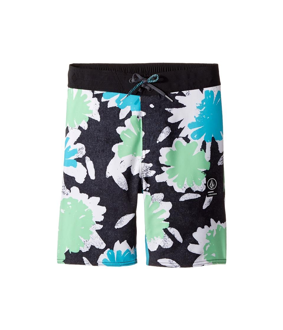 Volcom Kids - Bloom Half Stoney Boardshort (Little Kids/Big Kids) (Aqua) Boy's Swimwear