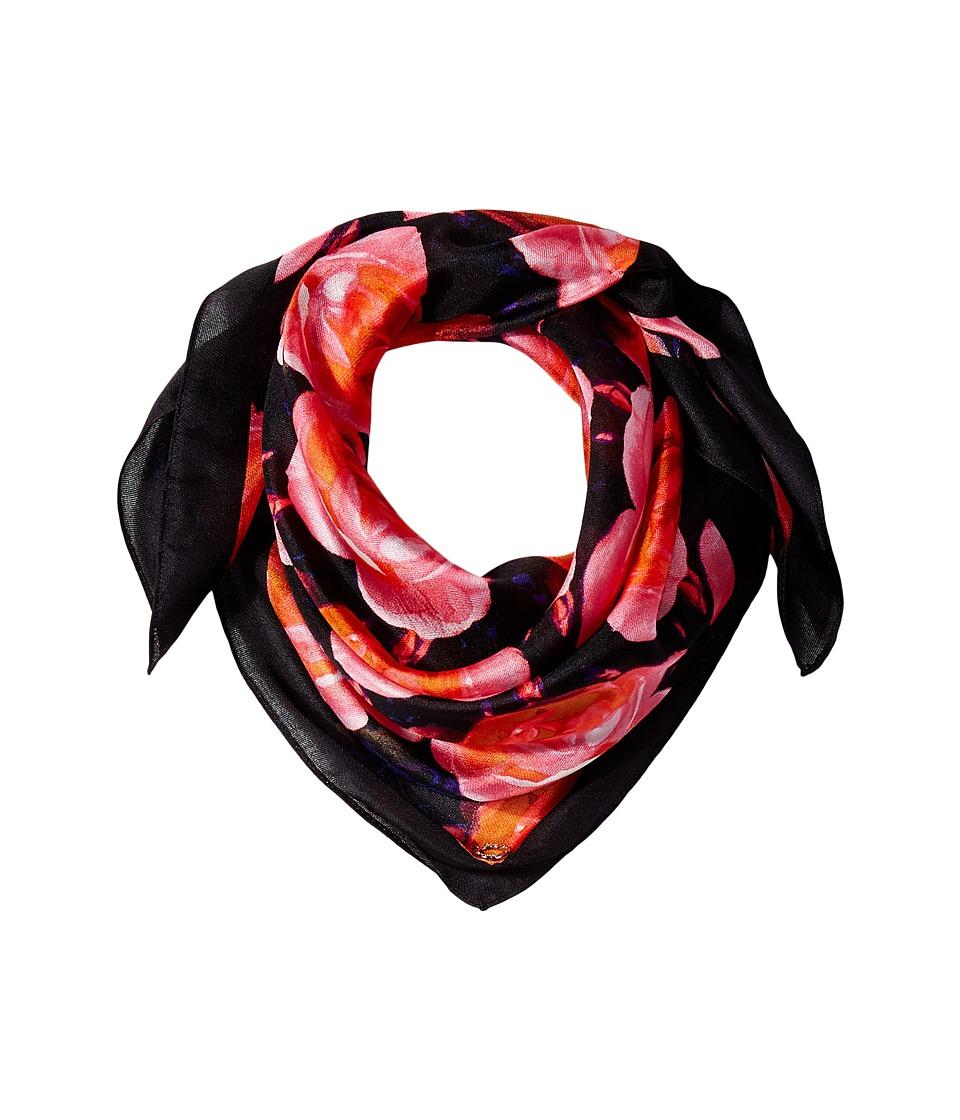 Calvin Klein - Floral Neckercheif (Ember Multi) Scarves