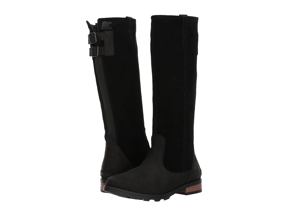 SOREL Emelie Tall (Black/Dark Fog) Women