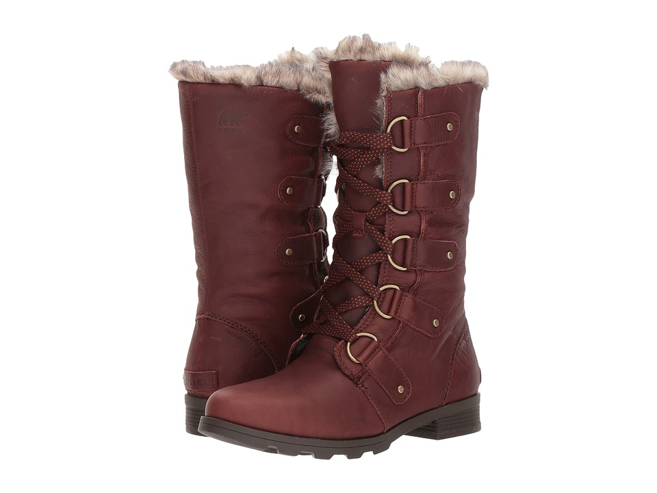 SOREL Emelie Lace Premium (Cordovan/Major) Women