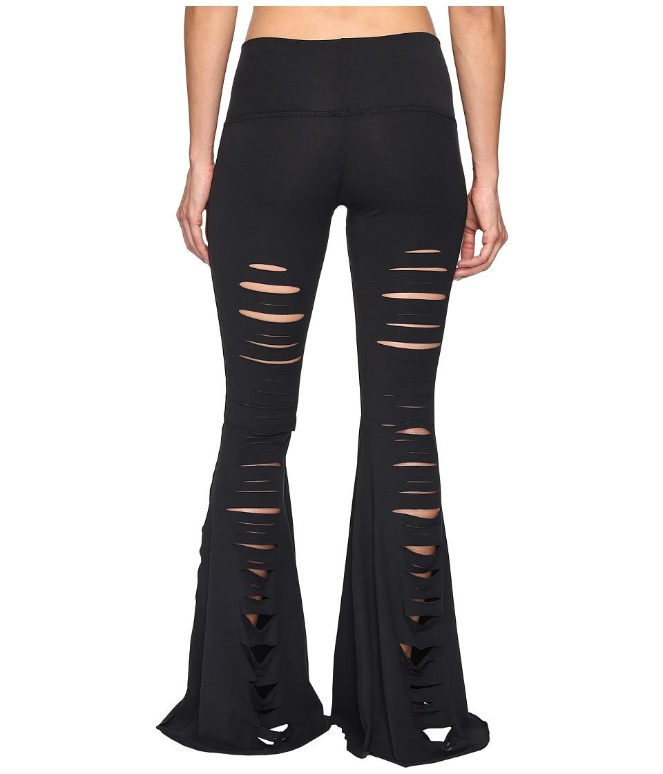 teeki - Jimi Bell Bottoms (Black) Women's Casual Pants
