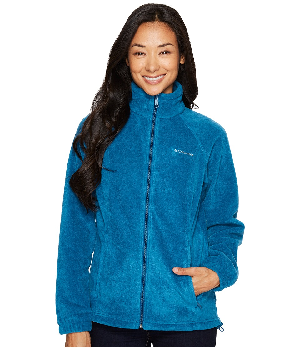 Columbia - Benton Springstm Full Zip (Phoenix Blue) Women's Jacket
