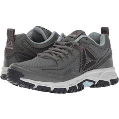 Womens Ridgerider Trail 2.0 Track Shoe, Black/Solar Pink/Silver/Pewter, 7.5 M US Reebok