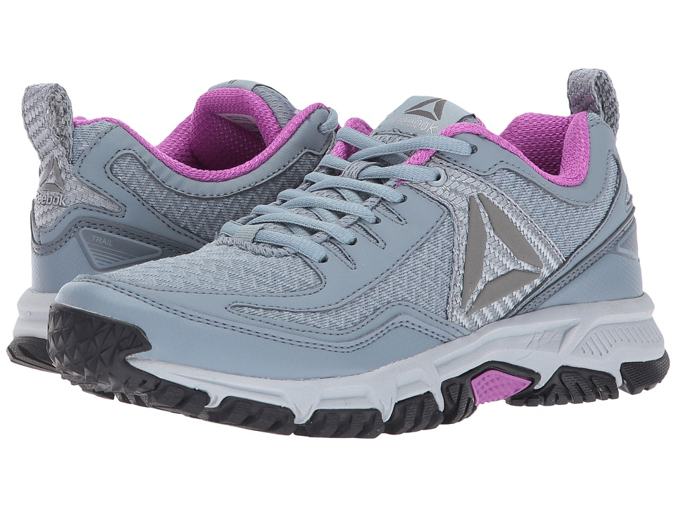 Reebok - Ridgerider Trail 2.0 (Meteor Grey/Asteroid Dust/Cloud Grey/Violet/Pewter/Silver) Women's Running Shoes