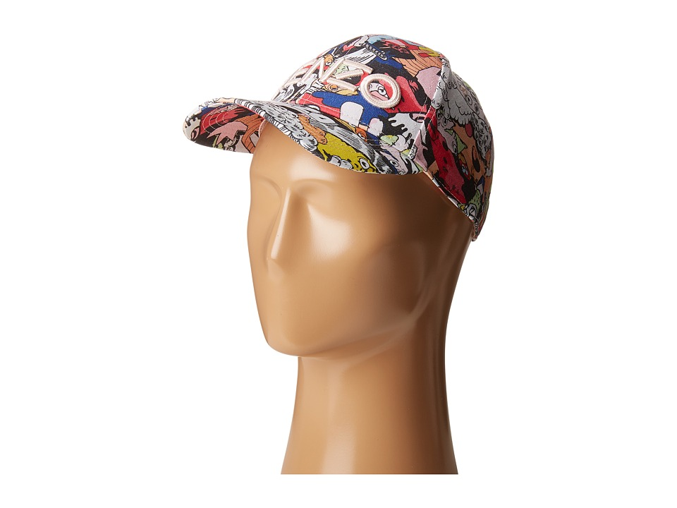 Kenzo Kids - Baie Casquette (Little Kids/Big Kids) (Multicolor) Caps