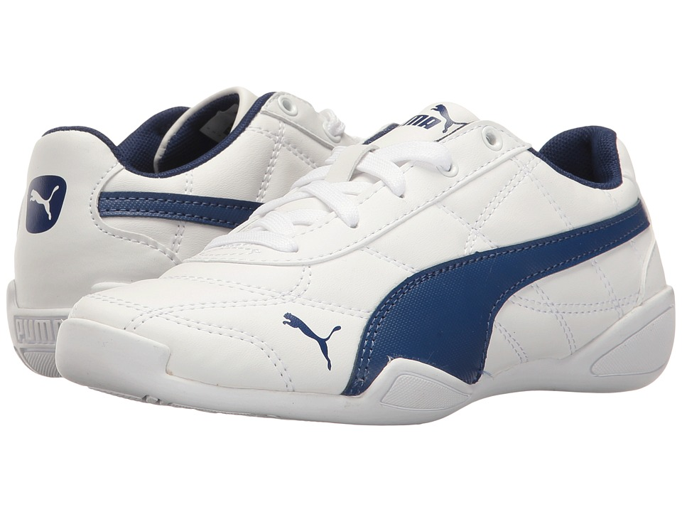 Puma Kids - Tune Cat 3 PS (Little Kid/Big Kid) (Puma White/Blue Depths) Boys Shoes