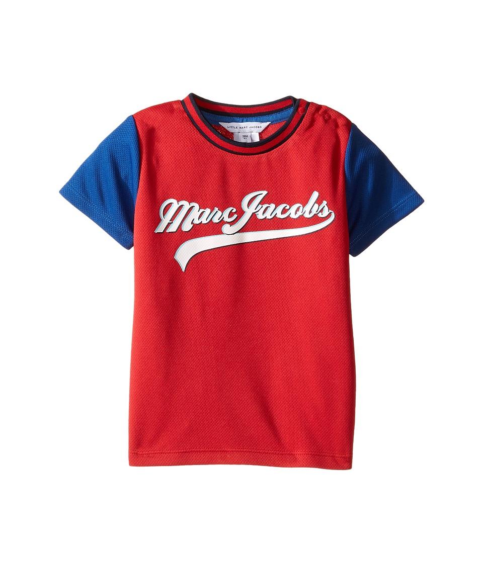 Little Marc Jacobs - Official Jersey (Infant) (Rouge/Bleu) Boy's Clothing