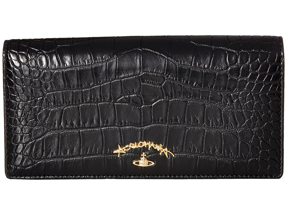 Vivienne Westwood - Wallet Dorset (Black) Wallet Handbags