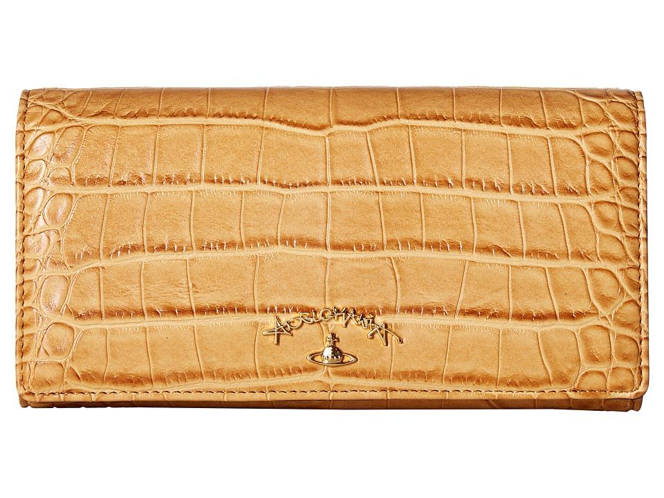 Vivienne Westwood - Wallet Dorset (Beige) Wallet Handbags