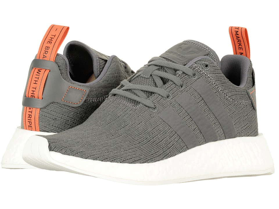 adidas Originals - NMD_R2 (Grey 5/Grey 5/Future Harvest) Men's Shoes
