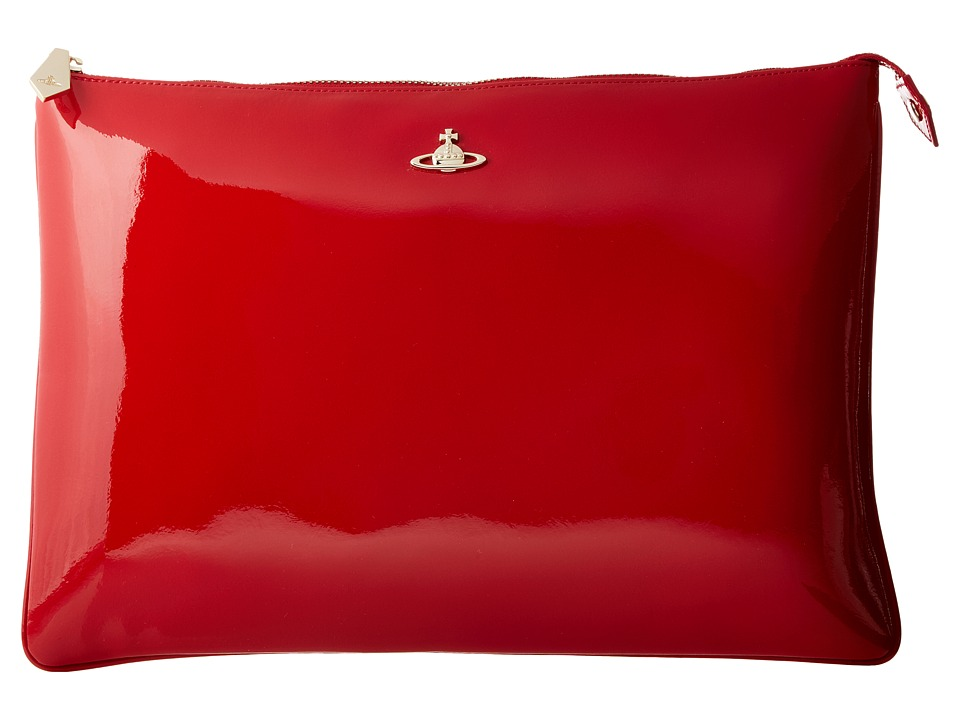 Vivienne Westwood - Margate Pouch (Red) Wallet Handbags