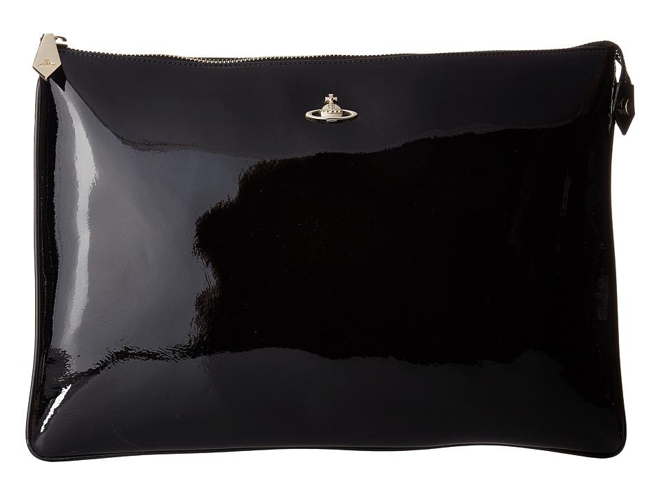 Vivienne Westwood - Margate Pouch (Black) Wallet Handbags