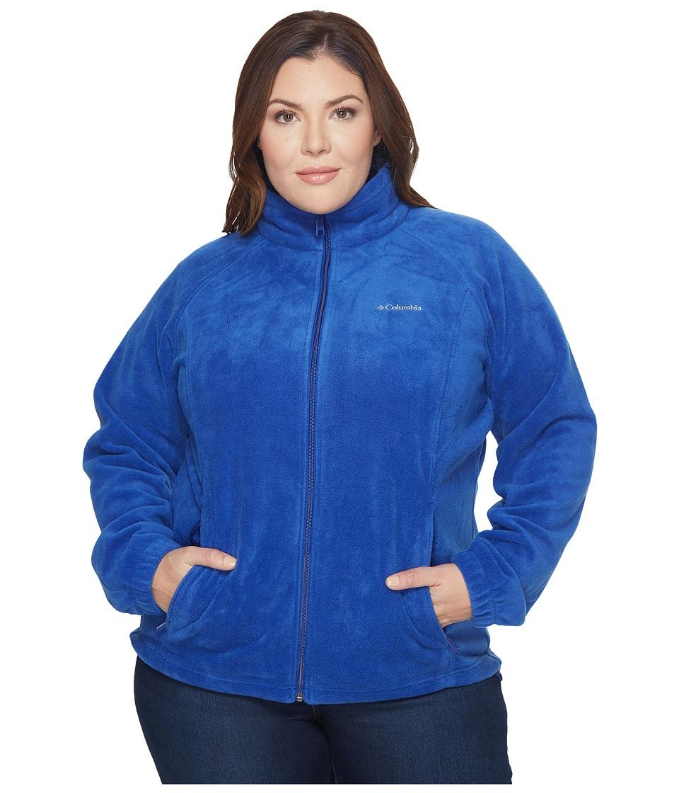 Columbia - Plus Size Benton Springstm Full Zip (Dynasty) Women's Sweatshirt