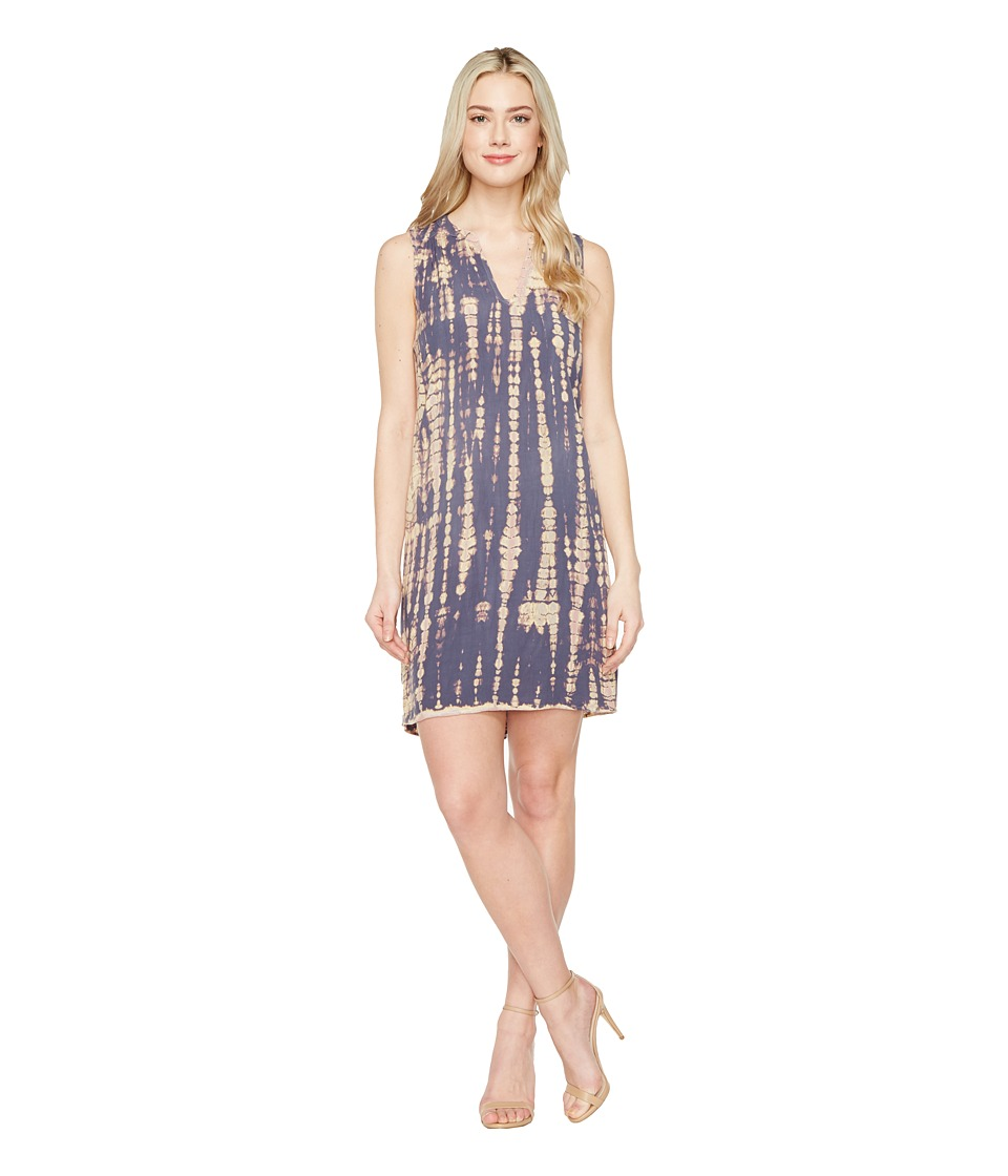 Michael Stars Naomi Wash Sleeveless V-Neck Dress (Nocturnal) Women