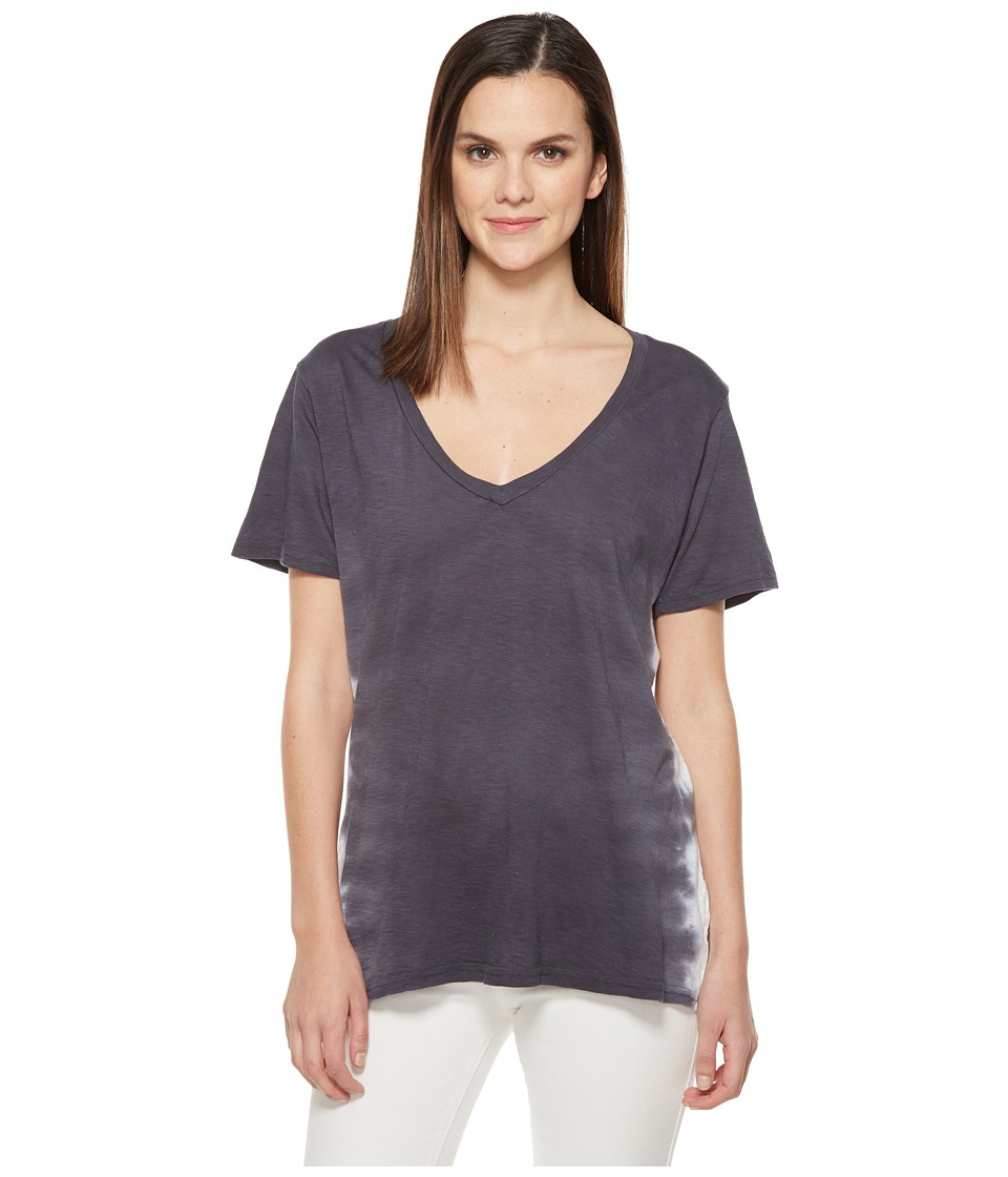 Michael Stars - Flame Wash Short Sleeve V-Neck (Oxide) Women's Clothing