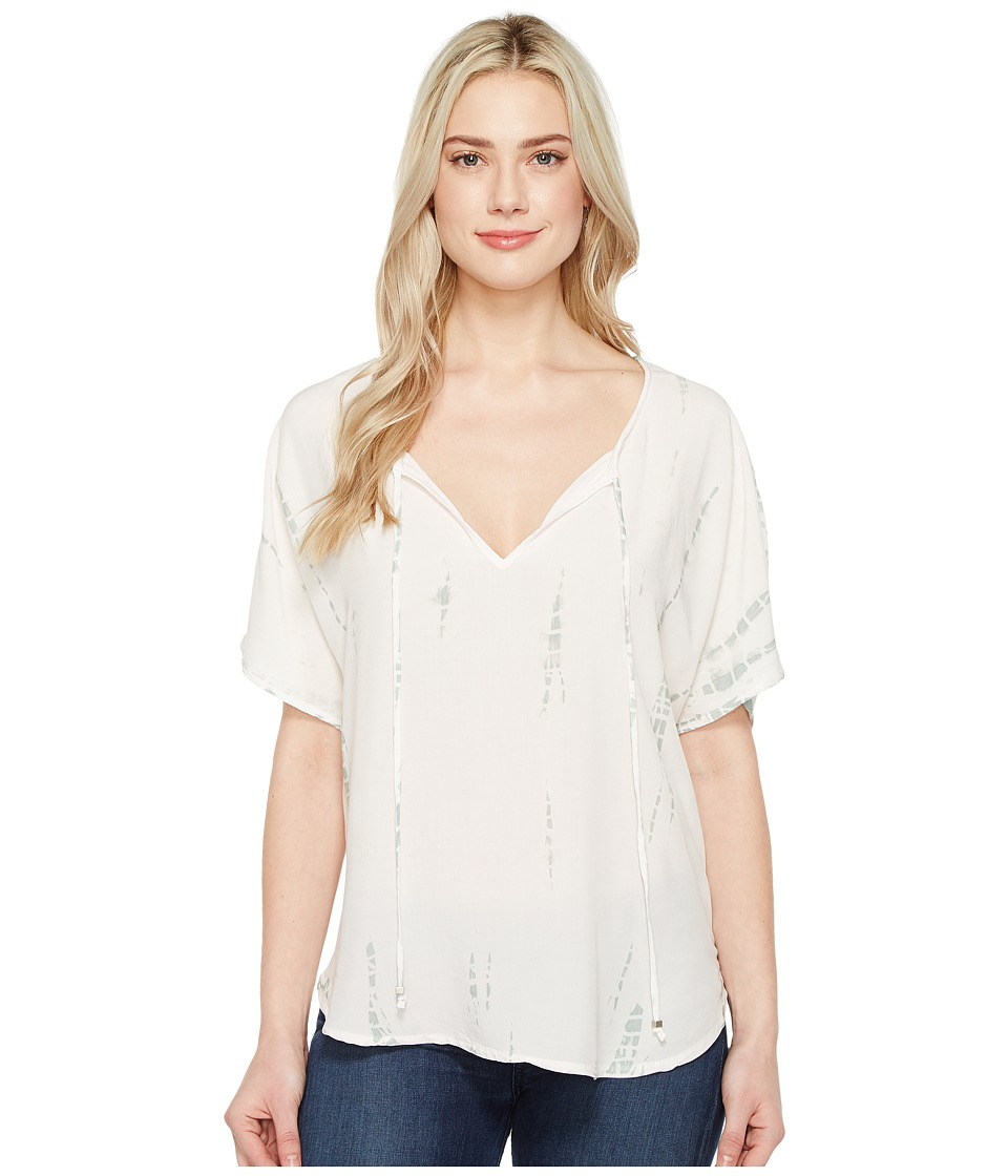 Michael Stars Naomi Wash Peasant Top (Barely Pink) Women