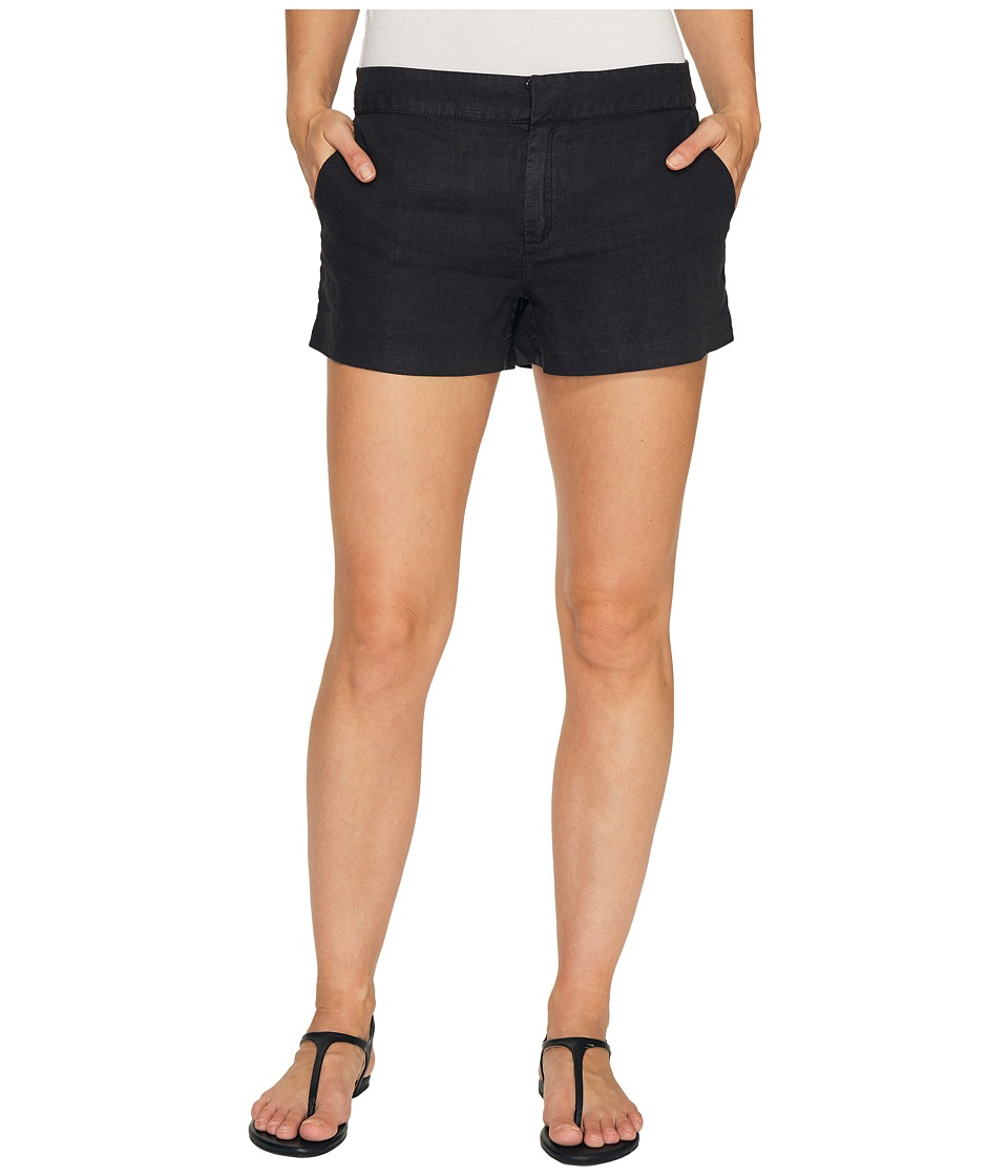 Michael Stars - Linen Classic Shorts (Black) Women's Shorts
