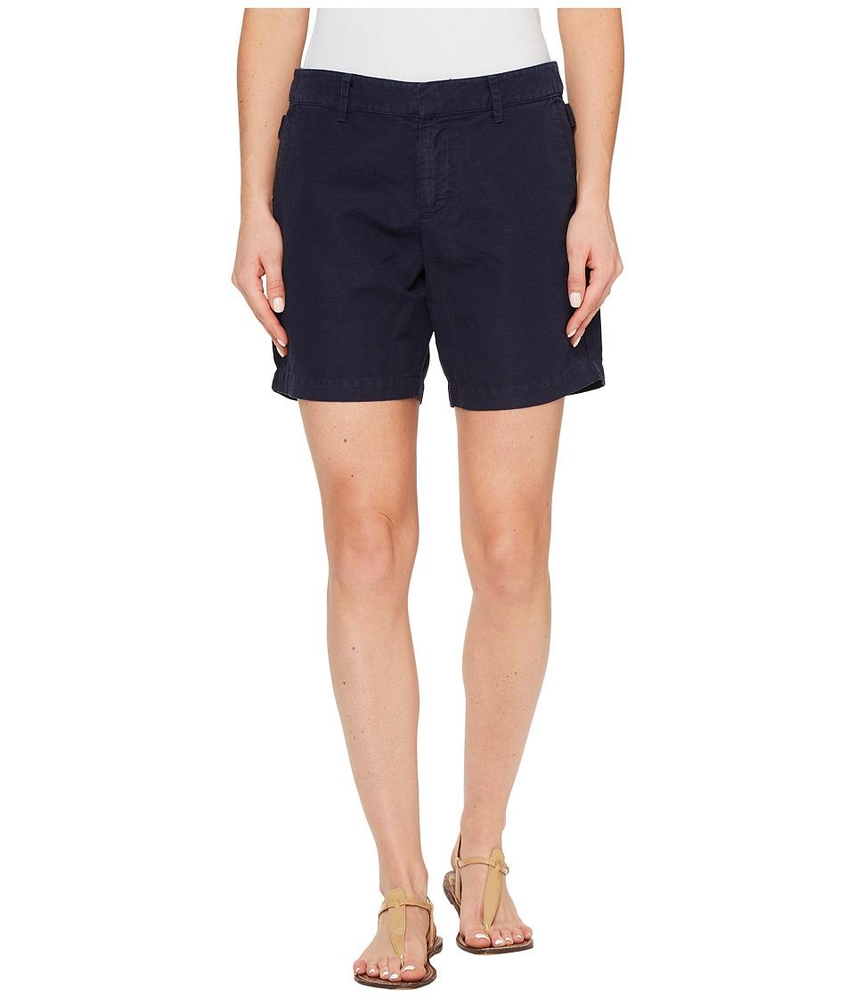 Michael Stars - Linen Cotton Blend Walking Shorts (Nocturnal) Women's Shorts