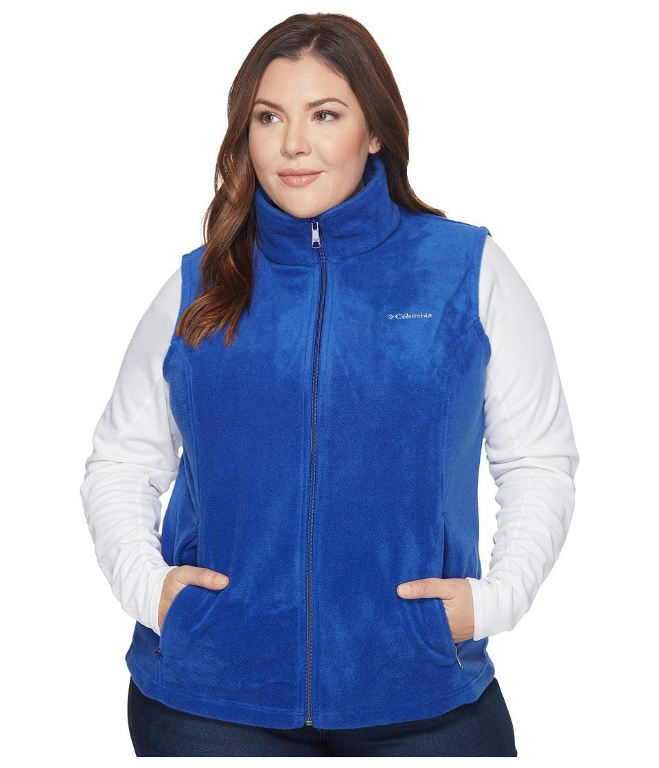 Columbia - Plus Size Benton Springs Vest (Dynasty) Women's Vest