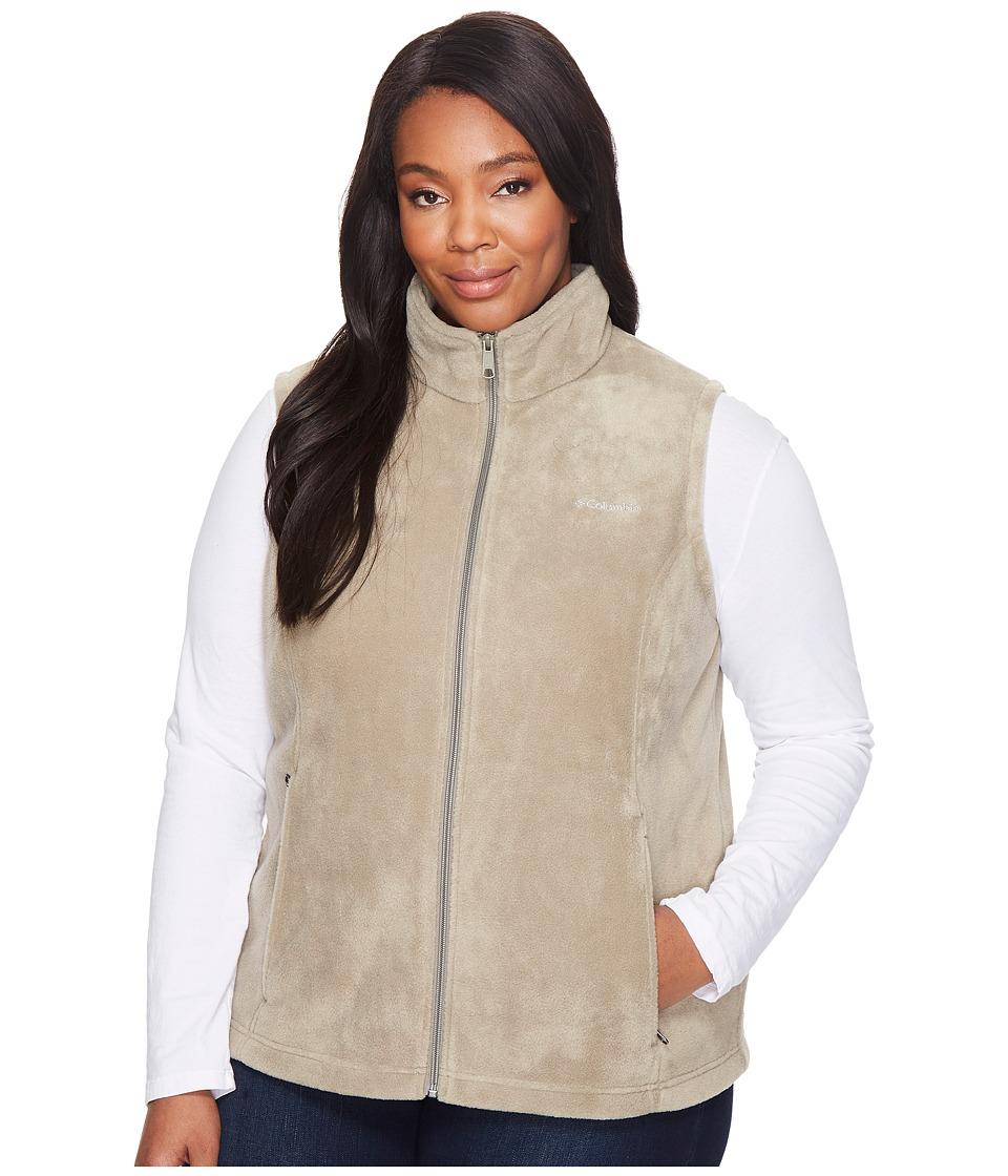 Columbia - Plus Size Benton Springs Vest (Sage) Women's Vest