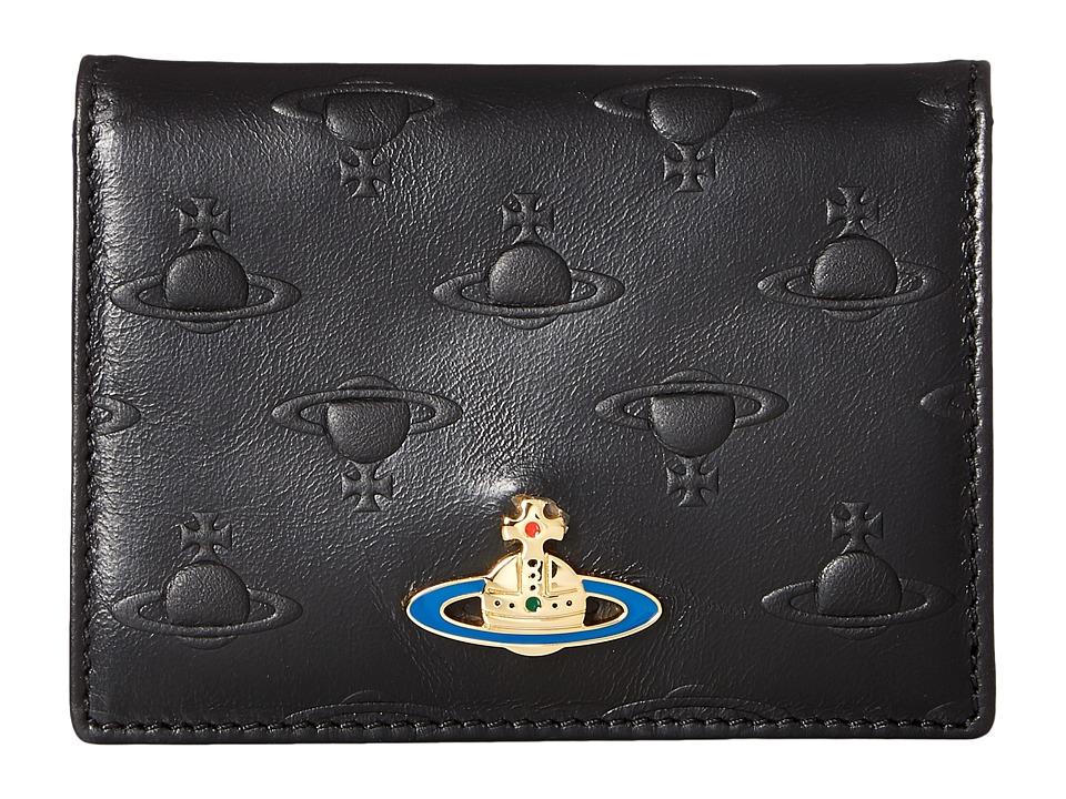 Vivienne Westwood - Wallet Orbs (Black) Wallet Handbags
