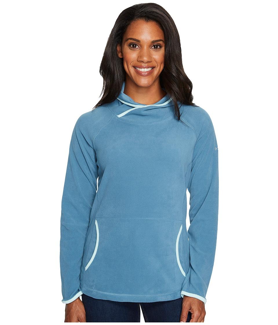 Columbia - Glacial Fleece IV Hoodie (Cloudburst/Blueglass) Women's Sweatshirt
