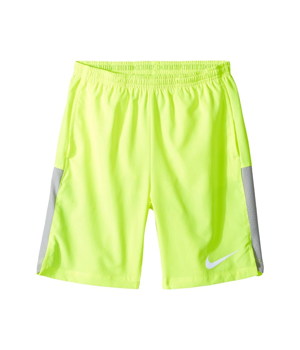 Nike Kids - Flex Running Short (Little Kids/Big Kids) (Volt/Wolf Grey/Black) Boy's Shorts