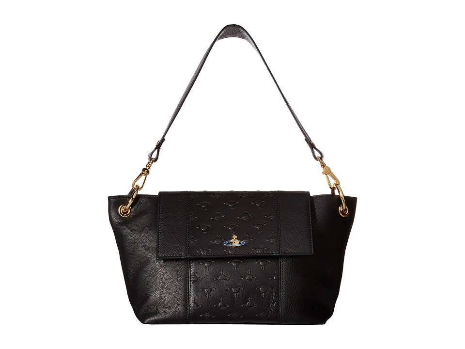 Vivienne Westwood - Cardiff Bag (Black) Handbags