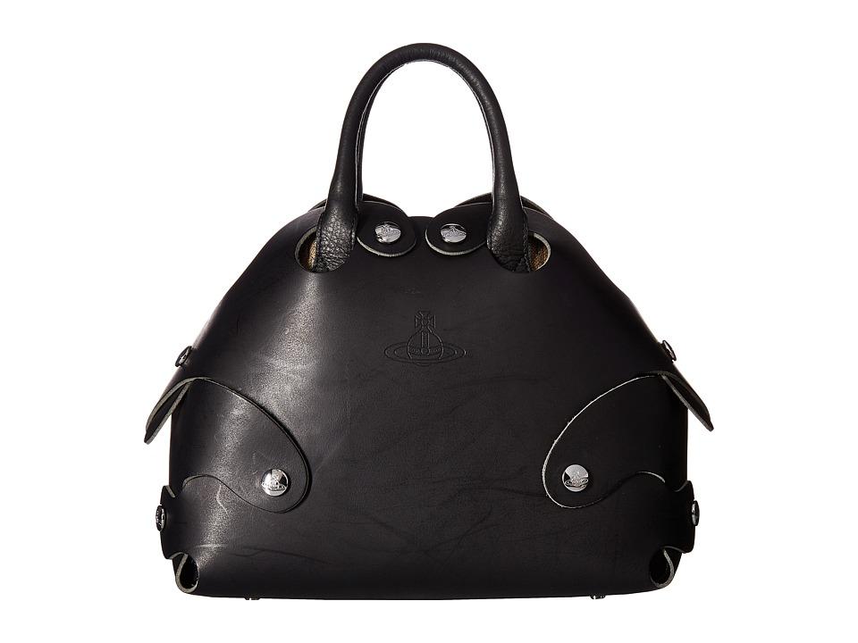 Vivienne Westwood - Flinstone Bag (Black) Handbags