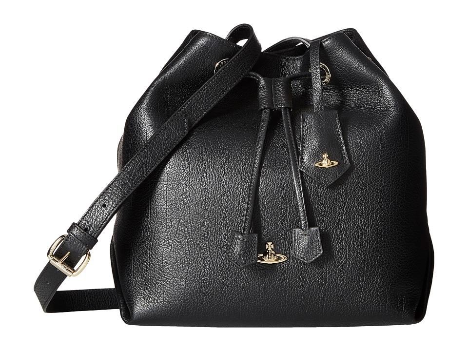 Vivienne Westwood - Bucket Balmoral (Black) Handbags