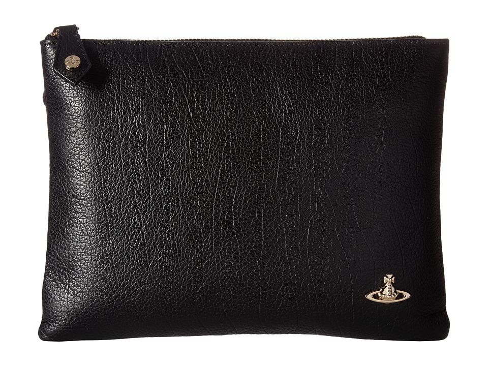 Vivienne Westwood - Pouch Balmoral (Black) Handbags
