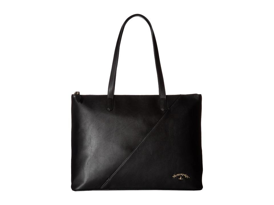 Vivienne Westwood - Shopper Bag Salcombe (Black) Handbags