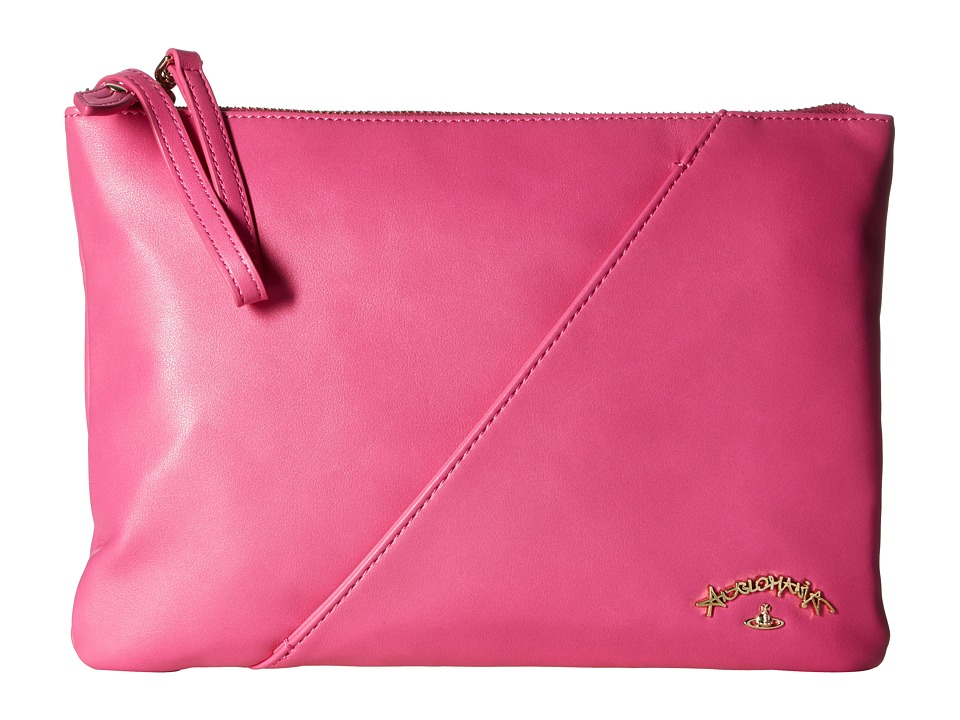 Vivienne Westwood - Pouch Salcombe (Pink) Handbags