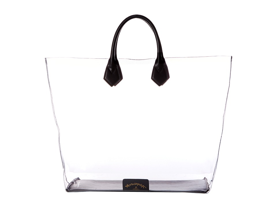 Vivienne Westwood - Large Shopper Clovelly (Black) Handbags