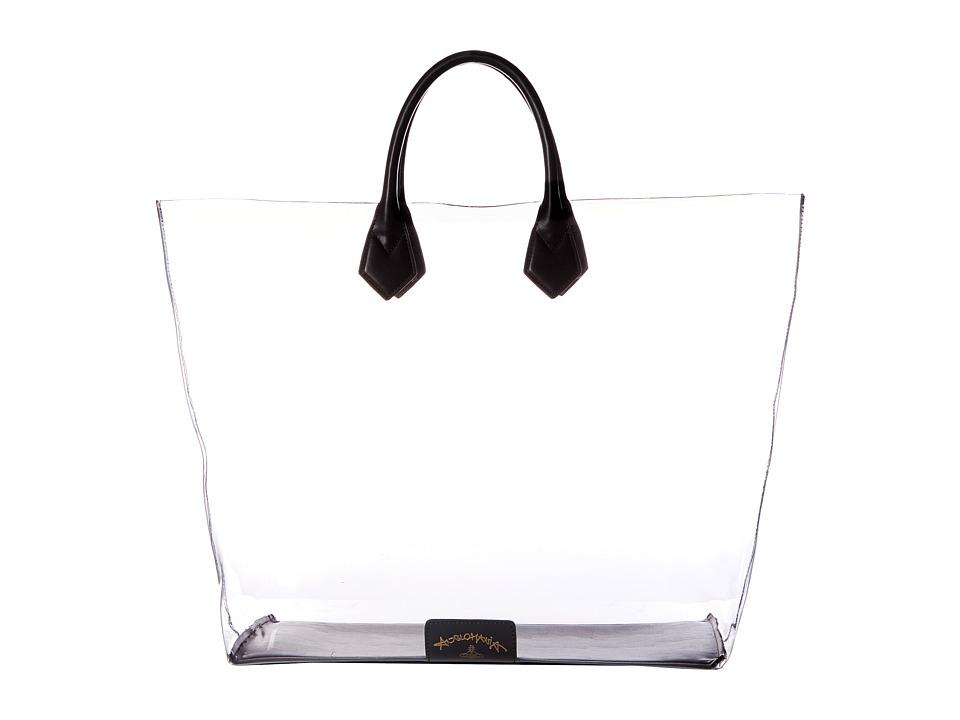 Vivienne Westwood - Large Shopper Clovelly (Black) Handbags