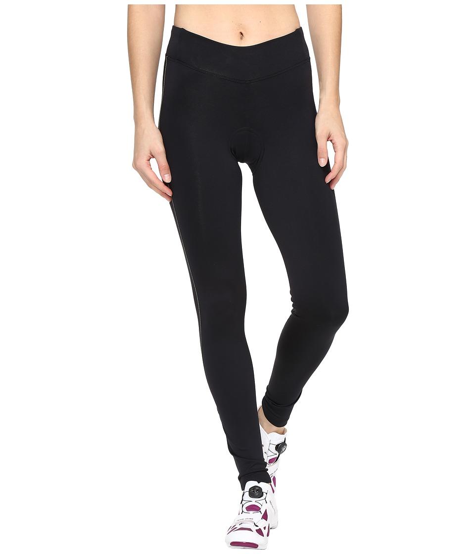 Pearl Izumi - Sugar Thermal Cycling Tights (Black/Screaming Yellow Stitch) Women's Clothing