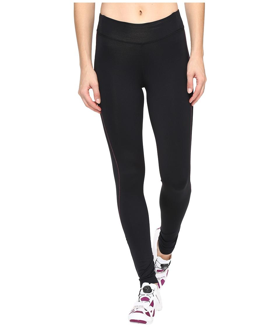 Pearl Izumi - Sugar Thermal Cycling Tights (Black/Screaming Pink Stitch) Women's Clothing