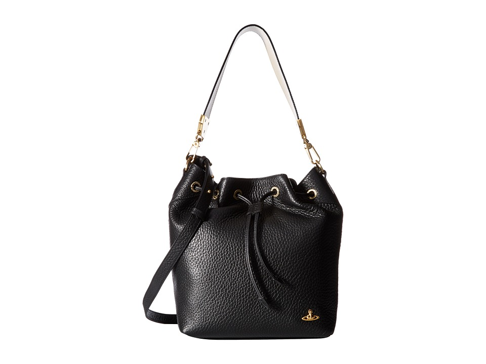 Vivienne Westwood - Bucket Bag BeLgravia (Black) Handbags