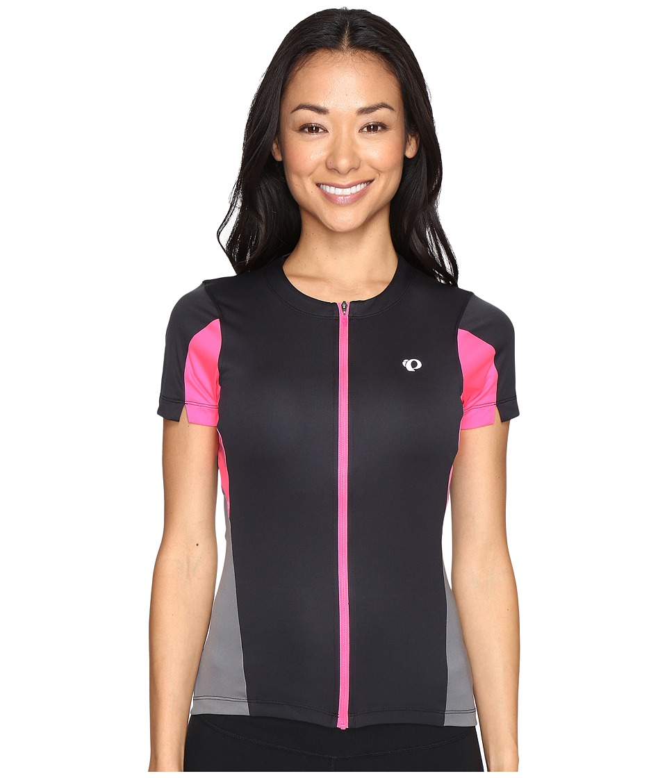 Pearl Izumi - Select Jersey (Black/Screaming Pink) Women's Clothing