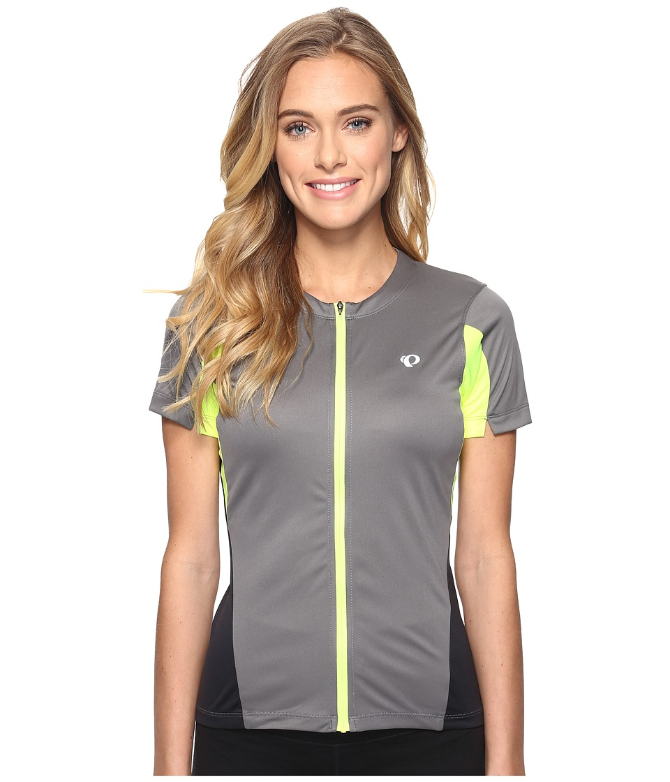 Pearl Izumi - Select Jersey (Smoked Pearl/Screaming Yellow) Women's Clothing