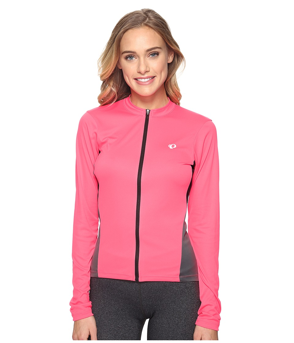 Pearl Izumi - Select Long Sleeve Jersey (Screaming Pink/Smoked Pearl) Women's Clothing