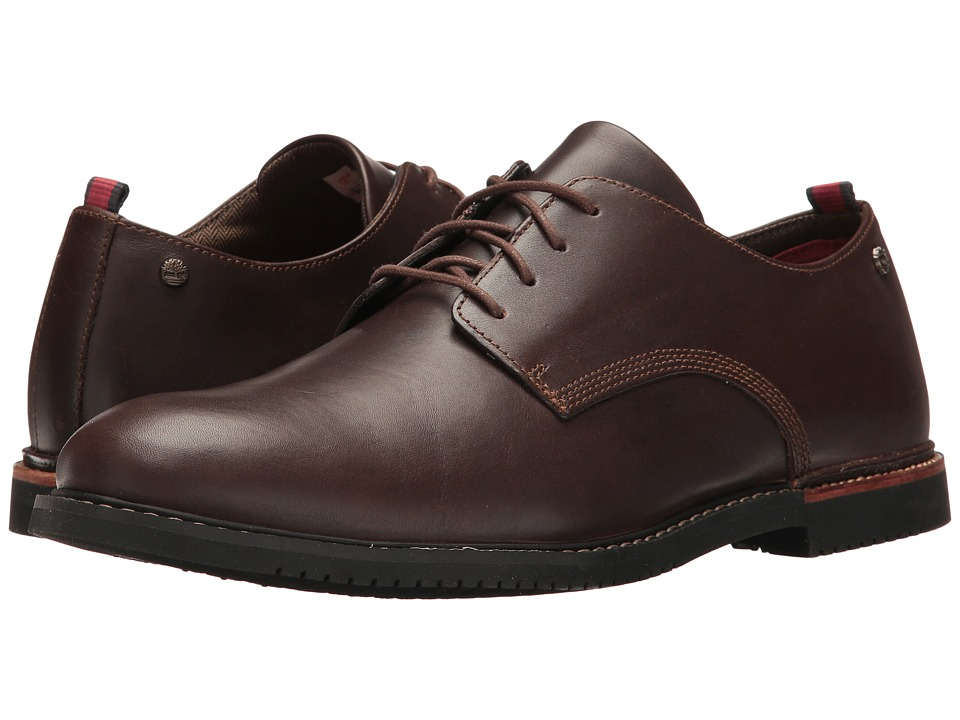 Timberland - Brook Park Oxford (Brown) Men's Lace up casual Shoes