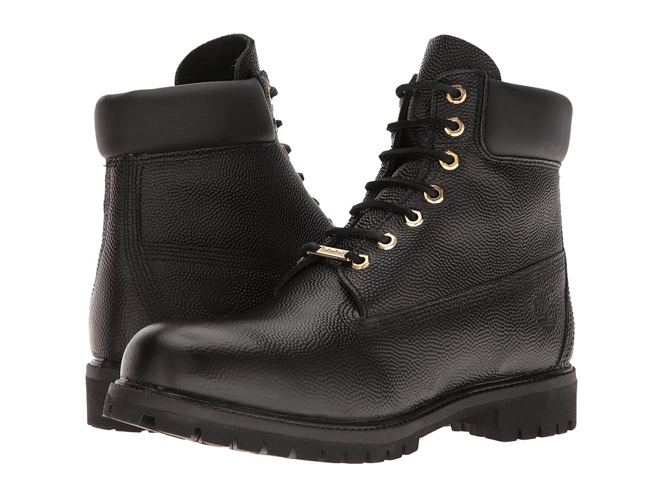 Timberland - 6 Premium Monochrome Boot (Black) Men's Lace-up Boots