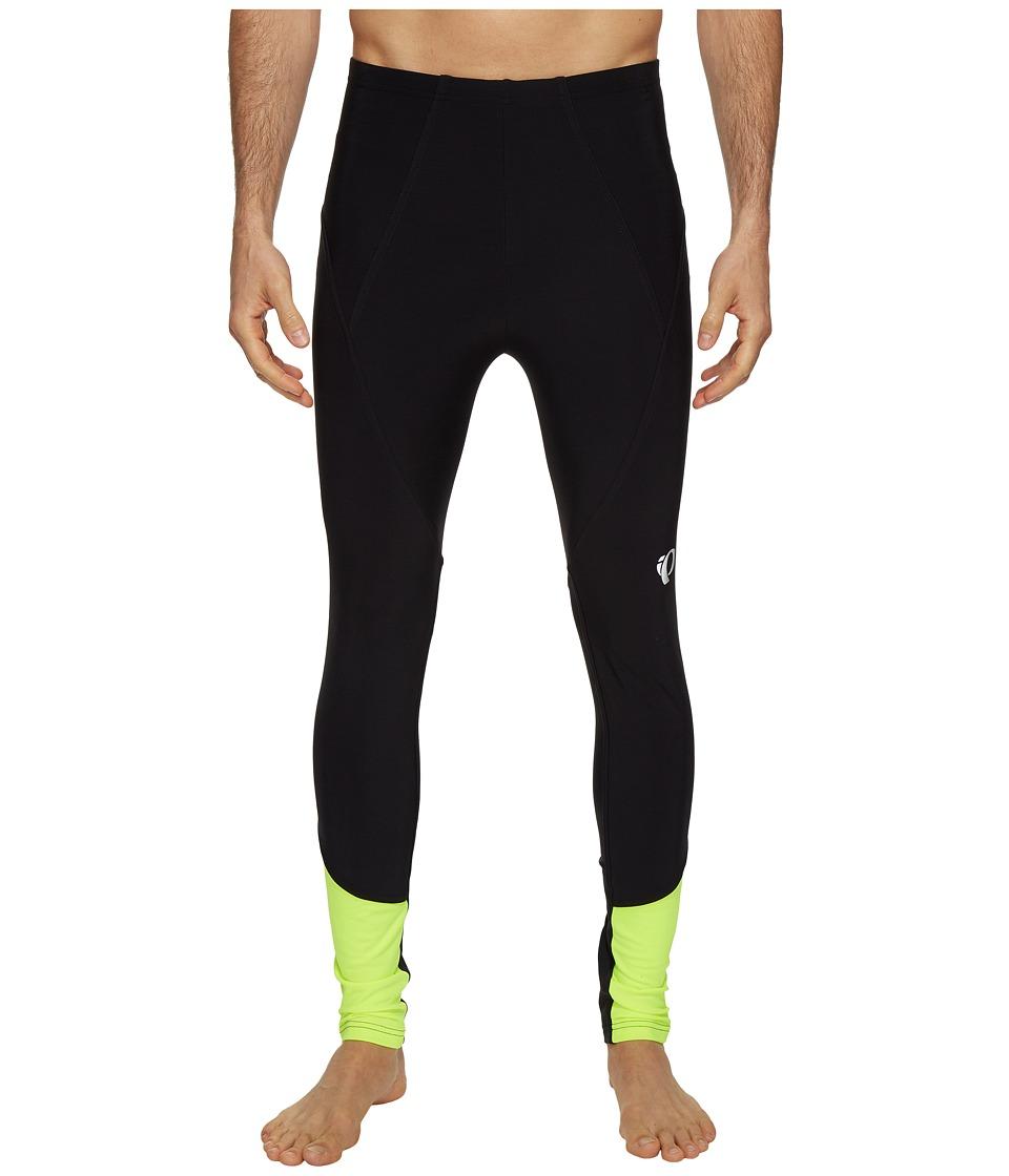 Pearl Izumi - Elite Thermal Tights (Black/Screaming Yellow) Men's Clothing