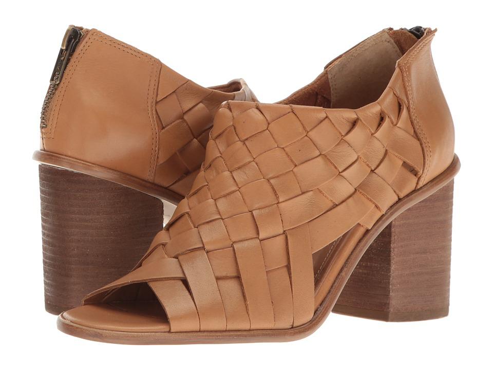 CC Corso Como Salem (Camel Brushed Leather) High Heels
